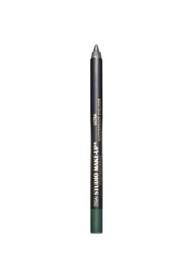 Tca Studio Make Up Ultrawaterproof Eyelıner 803 Dark Green Renkli